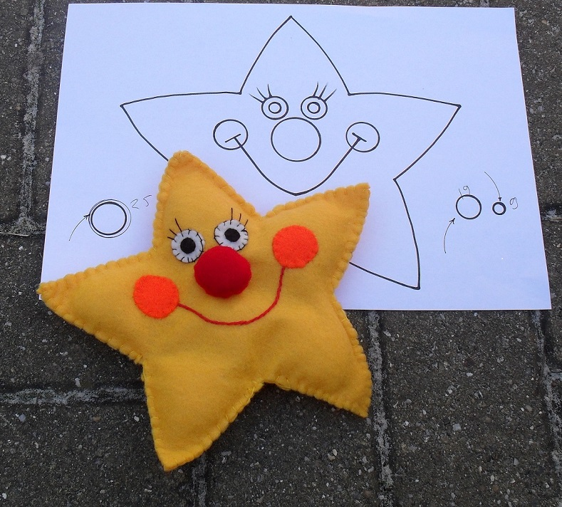 Twinkle Little Star- sewing pattern - Puppets in a bag - custom made ...